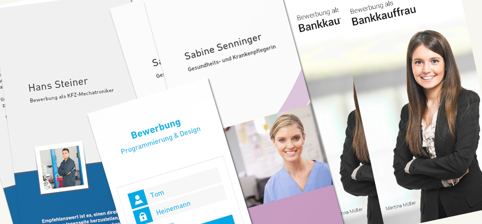 bewerbungsflyer vorlagen einfach erstellen easyprint blog - Flyer Bewerbung