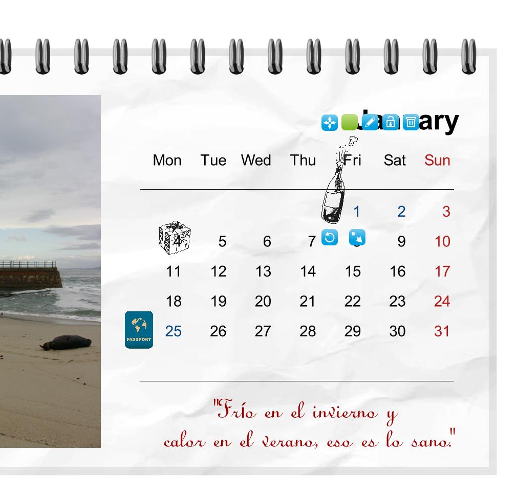 Crea un tu propio calendario personalizado easyprint blog - Como hacer tu propio calendario ...