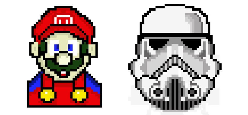 Tutoriel Pixel Art avec Illustrator